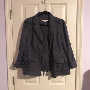 Ann Taylor Grey Jacket